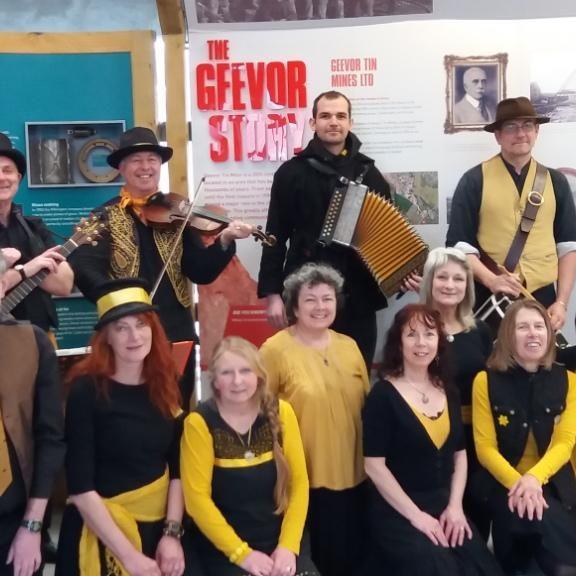 Geevor Tin Mine group photo