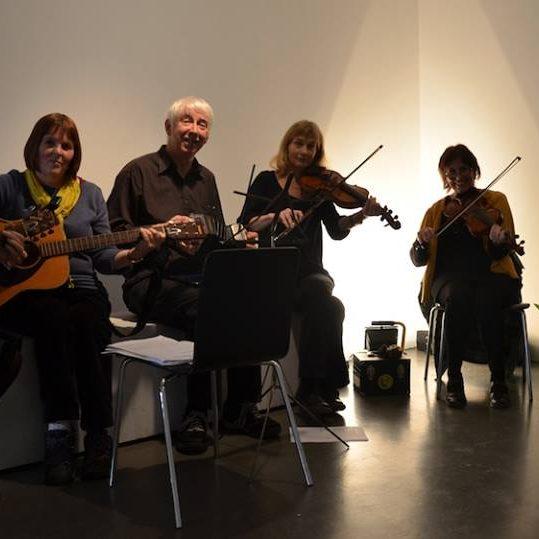 Newlyn Gallery musicians