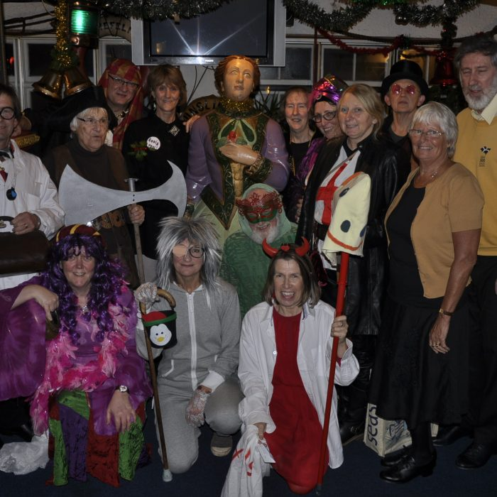 Mummers at the Admiral Benbow