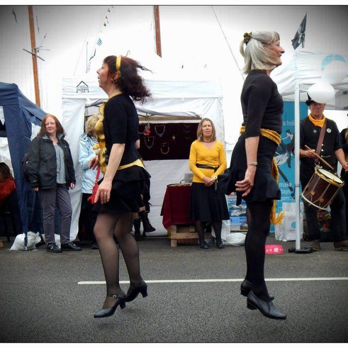 Quay Fair Day. levitation