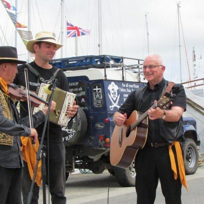 Quay Fair Day musicians