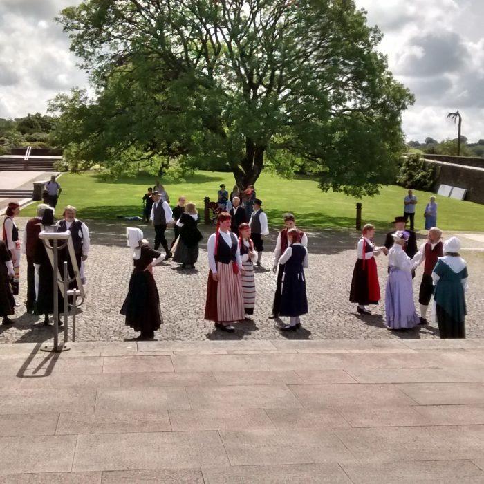 Royal Botanical Gardens, Wales. Welsh Dancing